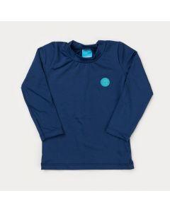 Blusa Marinho com Proteção UV para Menino