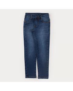 Calça Jeans Skinny para Menina com Bolso