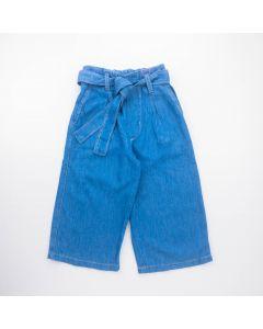 Calça Pantacourt Jeans para Menina