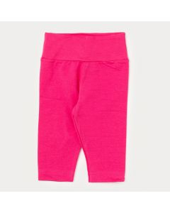 Legging Bebê Menina Básica Pink