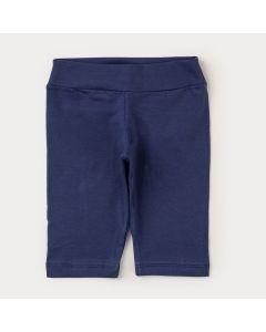 Capri para Menina Azul Marinho Básica