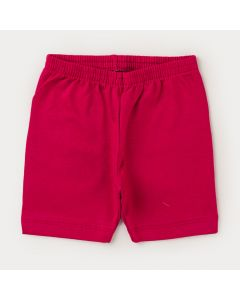 Short Ciclista Pink para Menina
