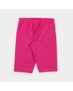 Short Infantil Feminino Básico Pink