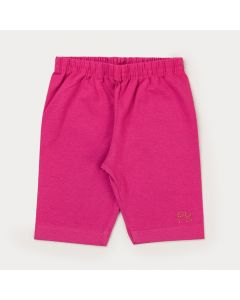 Short Básico Pink Infantil Menina