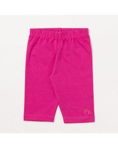 Short Infantil Feminino Pink