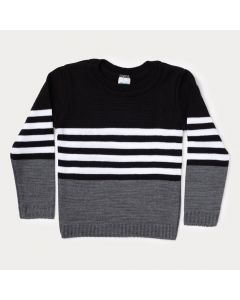 Suéter Infantil Preto para Menino