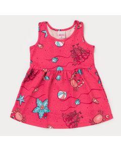 Vestido Pink Siri para Bebê Menina