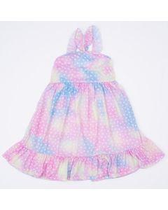 Vestido Infantil de Alcinha Tie Dye