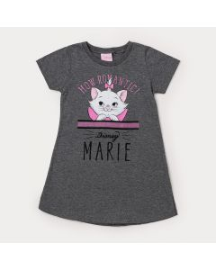Vestido Infantil Mescla Gatinha Marie