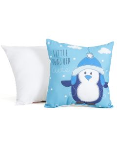 Almofada Decorativa com Estampa Little Penguin